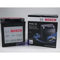 Bateria De Moto Bosch Gel Sundown Stx 200 2006 Até 2009 Btx6