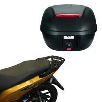 Kit Honda Biz Mix Baú Givi E280n + Suporte Bagageiro Scam