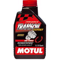 Óleo Motul Transoil Expert 10w40 Todas Motos 2t E 4t 1 Litro