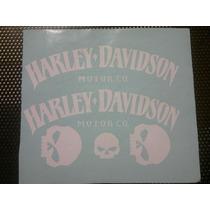 Emblemas Adesivo Tanque Harley Davidson Custon Bobber Brat