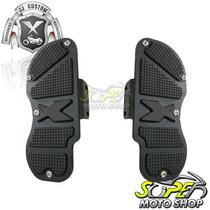 Plataformas Traseira Sport Articula Harley Xl 883 1200 Preta