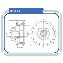 Cubo Roda Traseira Honda Cg Fan 125 2008 A Diante #