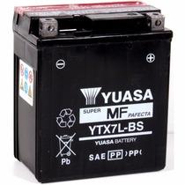Bateria Yuasa Ytx7l-bs Cycle Lite 7 Honda Nx125/biz125/cg125
