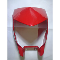 Carenagem Farol Yamaha Lander 250 Vermelha 09/14 Original