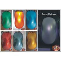 Kit Tinta Kandy Transparente Aerografia - 6 Cores Promoção