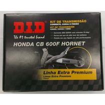 Kit Relação Did Cb600 Hornet 08/14 Premium Retent 48776 Rs1