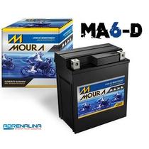 Bateria Moura Ma6 D Moto Biz 125+ Es Cb 250 Nx 125 150 250..