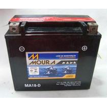 Bateria Moura Ma18-d Harley Dyna 1600/fatboy1600/gl1800