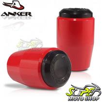 Slider Dianteiro Anker Cb 300 R - Vermelho - Honda