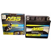 Bateria De Moto Abs12v-6h Honda125/150/biz/fan/cg/bros/esd.