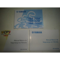 Novo Manual Moto Yamaha Ybr 125 K Ed 2007 2008 2009 Original
