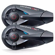 Intercomunicador Interphone Moto F5mctp Capacete Comunicação
