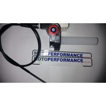 Acelerador Rápido Punho Rápido Alumínio+cabo Rd Dt