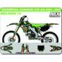 Kit De Adesivos Kxf 250 2006 2008 - Mulisha10 - Qualidade 3m