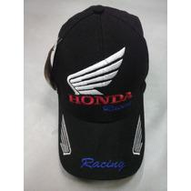 Boné Honda Com Velcro