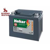 Bateria Heliar Htz6l Titan Xre 300 Factor Bros Biz