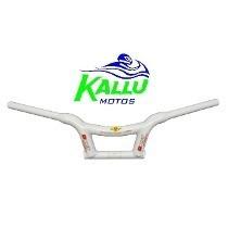 Guidão Branco Baixo Drift Mônaco Kallu Motos