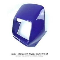 Carenagem Farol Nx200 Lilas S/adesivo