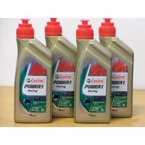 4 Litros Oleo Castrol 4t Power 1 Racing 10w40 100%sintetico