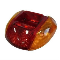 Lanterna Traseira Completa Vermelha C100 Biz / Pop 100 St...