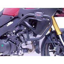 Protetor De Motor E Carenagem Com Pedaleiras Suzuki Vstrom 1