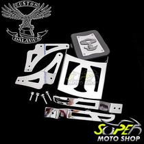 Encosto Sissy Bar Traseiro Shadow 750 Modelo 2006 Até 2010
