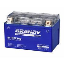Bateria Brandy Ytz10s Gel R1 Cbr600 Cbr900 Cbr1000 Hornet
