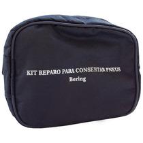Kit Reparo P/ Pneus Moto + Ar Comprimido - Bering