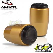 Slider Dianteiro Anker Z 750 08 Em Diante - Dourado - Kawasa