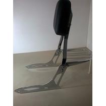 Encosto Traseiro Sissy Bar Shadow 750 V2 Custom