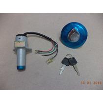 Kit Chave Ignição / Tampa Tanque Honda Cbx 150 / 200 Strada