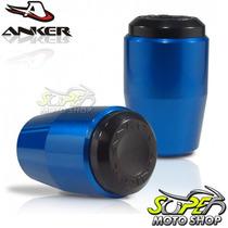 Slider Dianteiro Anker Cb 300 R - Azul - Honda
