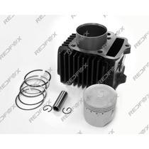 Kit Motor Aumento Cilindrada 50 Cc P/ 75 Cc Shineray / Traxx