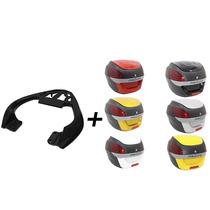 Kit Dafra Riva 150 Bag Scam + Bau Proos 29 Litros- Vermelho