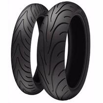 Pneu Michelin 120/70-17 + 180/55 Diant E Trase Bandit Hornet