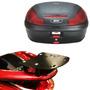Kit Honda Pcx 150cc Bauleto Givi E470n + Suporte Bagageiro