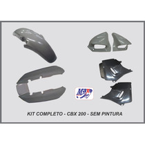Kit Carenagem Cbx 200 Strada Sem Pintura