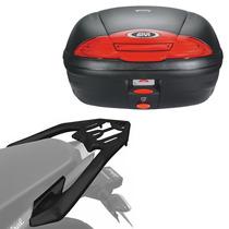 Kit Honda Twister 250 16+ Baú Givi E450n + Suporte Liga Leve