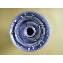 Cubo Roda Traseira Nxr125/150 Bros+ Raios 4mm Crom + Rolamen