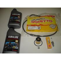 Kit Revisao Pecas Fazer 250 Oleo/filtro/vela/cabo Embreagem