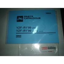 Catalogo Peças Moto Yamaha Yzf R1 1999 Inglês Parts Manual