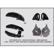 Carenagem Cbx 200 Strada Kit Completo
