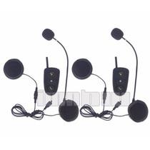 Intercomunicador Bluetooth - Capacete Moto - 2 Peças
