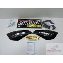 Protetor Mão Circuit Vector Preto Com Branco Bros Titan Fan
