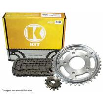 Kit Transmissão/relação K Fazer 250 Aço 1045 Com Retentor