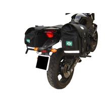 Kit Viagem Yamaha Xj6 Alforge E Afastador , Brinde Capas