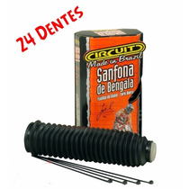 Sanfona De Bengala 24 Dentes Preta ( Par ) Circuit