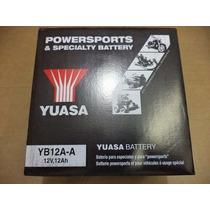 Bateria Yb12a-a - Honda Cbr 450 Sr Yuasa