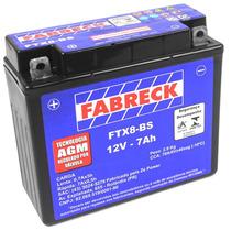 Bateria Selada Fabreck 7 Amperes Cbx 200 Strada 1993 A 2003