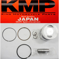 Pistão Kit Com Anéis Shineray 70cc 1,00 Mm